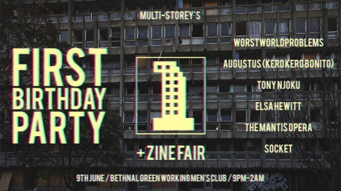 Multi-Storey's First Birthday Party, 9th June 2018