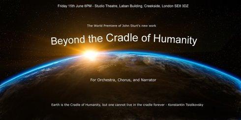 John Sturt: 'Beyond The Cradle Of Humanity', 17th June 2018