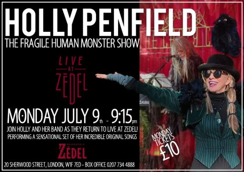 Holly Penfield, 9th July 2018