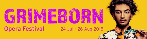 Grimeborn 2018, 24th July to 26th August 2018