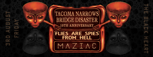 Tacoma Narrows Bridge Disaster + Flies Are Spies From Hell + Maziac, 3rd August 2018