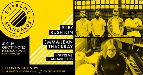 Ruby Rushton + Emma-Jean Thackray, 31st January 2019