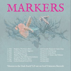 Markers on tour, February-May 2019