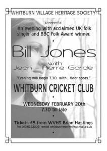Bill Jones, 20th February 2019
