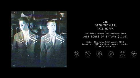 Lost Souls Of Saturn, 18th April 2019