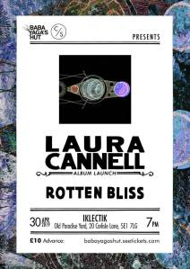 Laura Cannell + Rotten Bliss, 30th April 2019