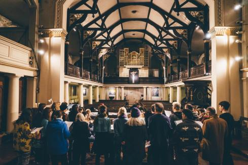 Daylight Music 309: 'From Call To Choir' with Dominic Stichbury & Ben See with Esmeralda Conde Ruiz + Archie (plus members of Chaps Choir, Bellow Fellows, Electric Belles and the Grandmother project) - 15th June 2019