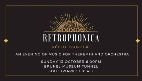 Retrophonica, 13th October 2019