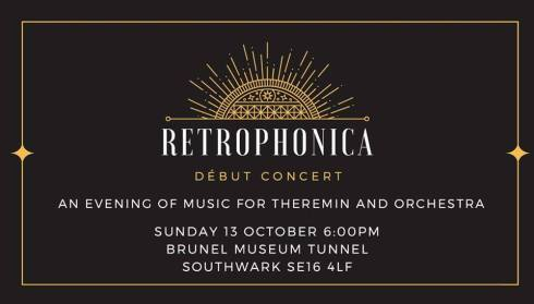 Retrophonica, 13th October 2019
