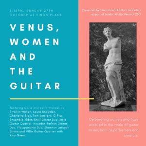'Venus, Women and the Guitar', 27th October 2019