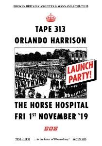Orlando Harrison, 1st November 2019