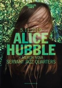 Alice Hubble + Blick Trio + Merlin Nova, 5th November 2019