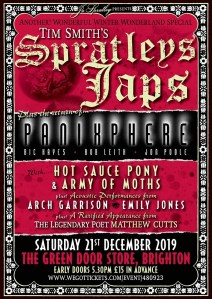 Wonderful Winter Wonderland Special 2019 (featuring Spratleys Japs, Panixphere + Hot Sauce Pony + Army Of Moths + Arch Garrison + Emily Jones + Matthew Cutts), 21st December 2019